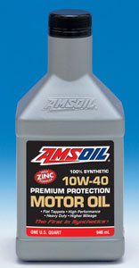 Amsoil Sae 10w 40 Synthetic Motor Oil Amo